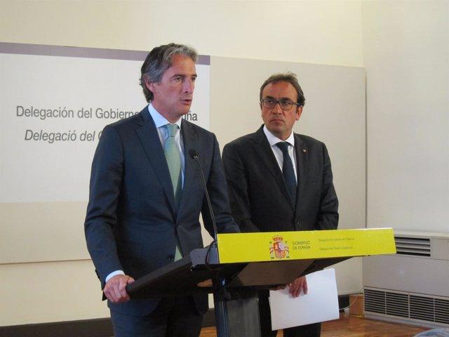 Íñigo de la Serna y Josep Rull