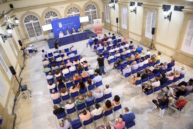 Presentación del libro sobre la historia de la Plaza de Toros de Almería