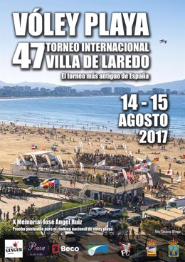 Cartel del Torneo de Voley Playa