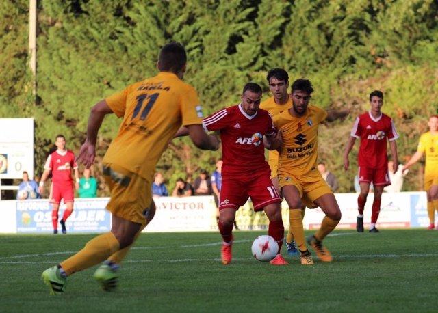 Sexta edición de Sesiones AFE en un partido frente al Burgos
