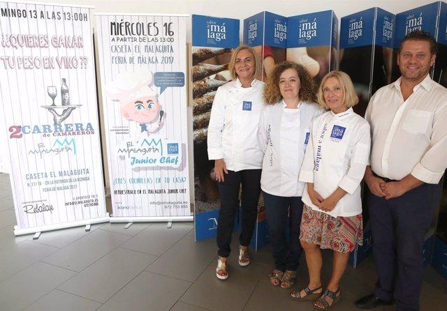 Sabor a Málaga presente en la Feria