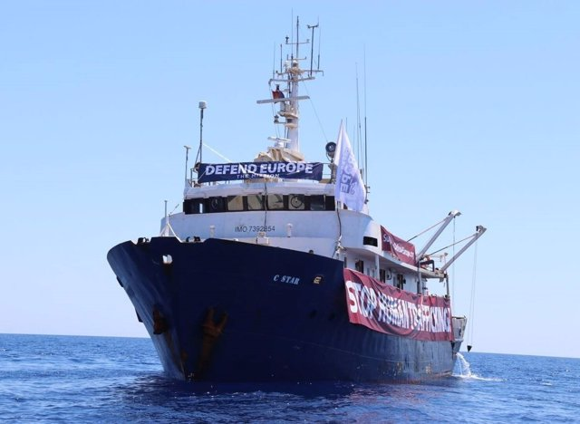 Barco C-Star, Defend Europe