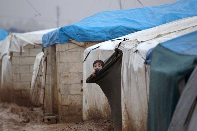 Desplazados internos de Alepo