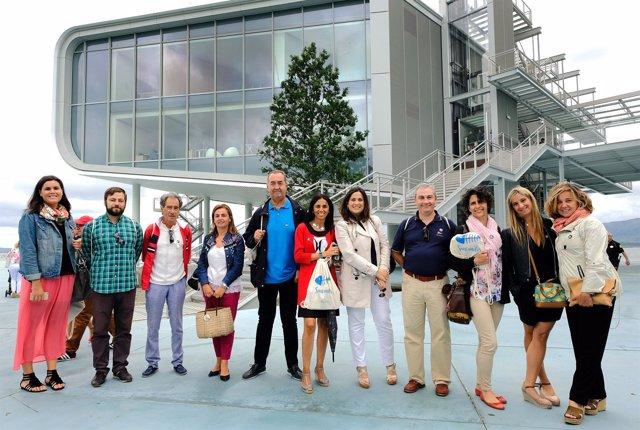 Visita de los embajadores voluntarios al Centro Botín