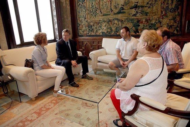 Reunión del 'president' y la familia de Garrido a finales de julio