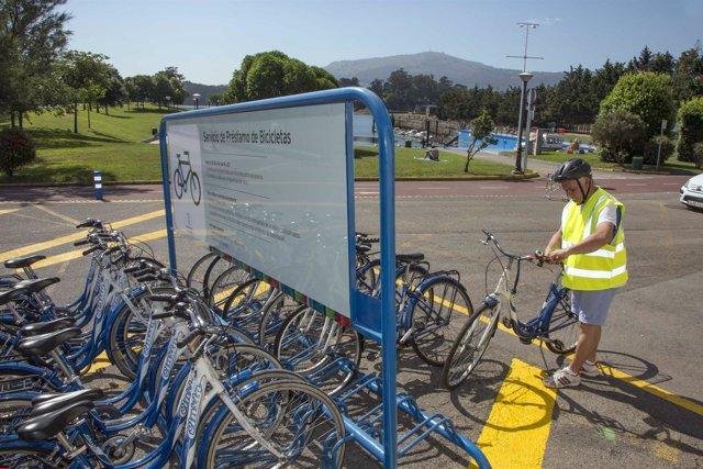 Servicio de bicicletas