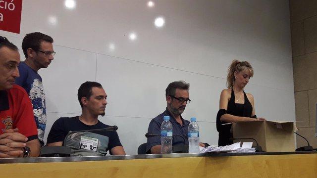 Recuento de votos de la asamblea de trabajadores de Eulen