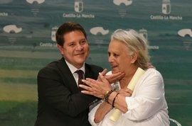 Page expresa su pésame por el fallecimiento de Terele Pávez, Hija Adoptiva de C-LM desde mayo