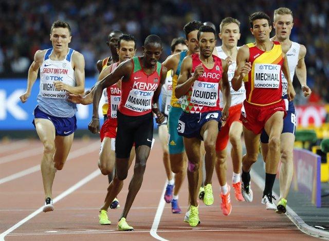 El atleta español Adel Mechaal