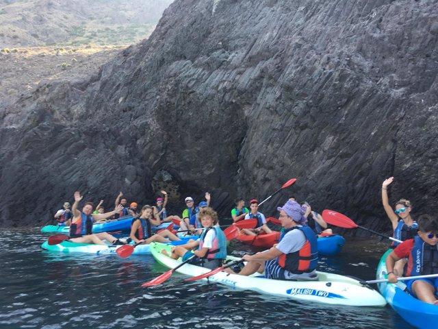 Jornada multiaventura en Cabo de Gata