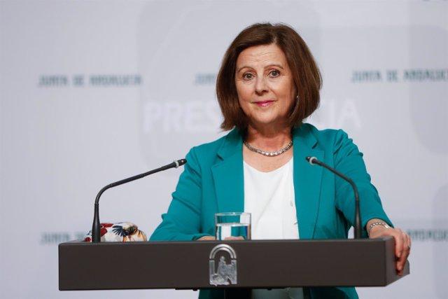María José Sánchez Rubio, hoy ante los medios