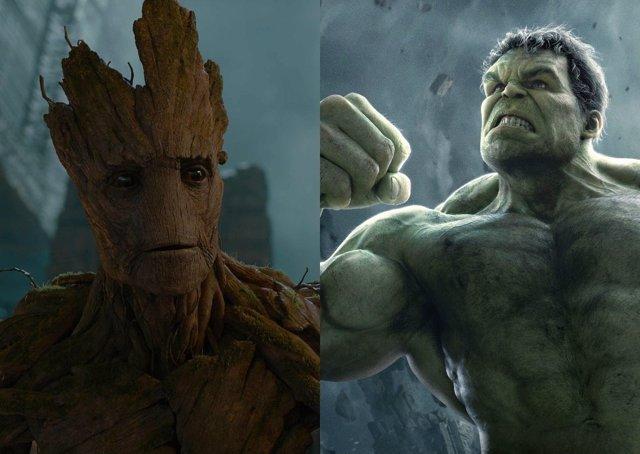 Groot, Hulk
