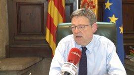 Puig no ve una moción de censura del PSOE contra Rajoy: No hay una mayoría alternativa
