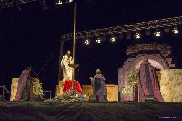 Edipo Rey en Cáparra