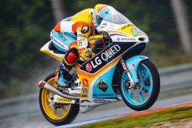 Rodrigo vuelve a salir desde la pole en Moto3 por delante de Guevara y Canet
