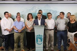 """El alcalde de Marbella no ve motivos para una moción de censura y cree una """"excusa"""" que se acuse a CSSP"""