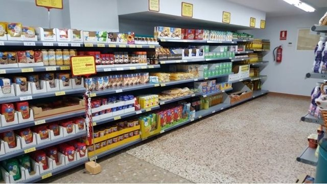 Economato Pilar Galera málaga ayudas sociales alimentos super