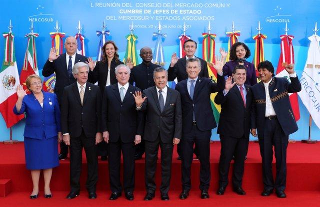 Presidentes de los países de MERCOSUR
