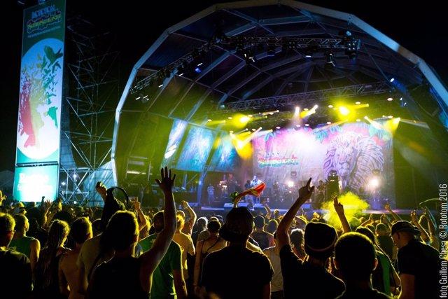 Escenario principal del festival