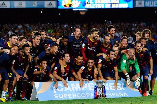 El FC Barcelona conquista la Supercopa de España