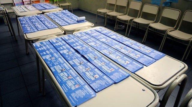 Boletas electorales de Argentina.