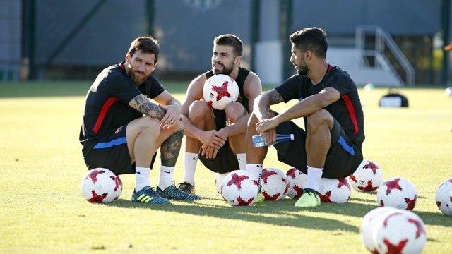 Valverde realiza sus primeros descartes como técnico del Barça