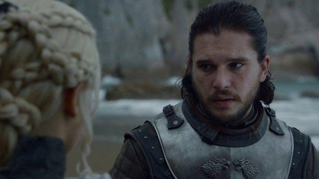 Juego de tronos Jon Snow Daenerys Targaryen