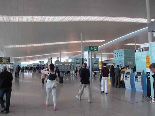 Terminal T1 del Aeropuerto de El Prat