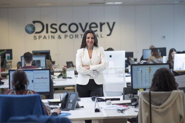 Vera Buzanello, Directora General de Discovery Networks y Eurosport Iberia