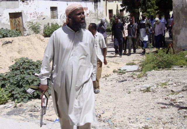 Mujtar Robow Abú Mansur, en una imagen de 2010