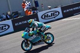 Mir afianza su liderato con triunfo en Moto3 y Martín vuelve con un tercer puesto