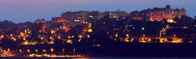 Santander iluminado