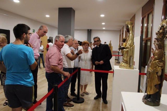 Inauguración de la exposición 'El legado de Secastilla'.