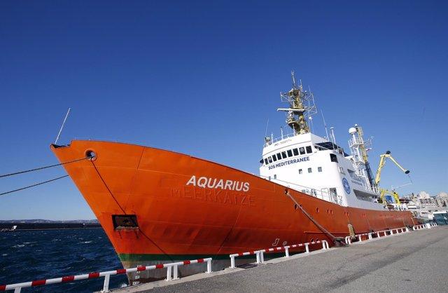 Barco Aquarius de SOS Méditerranée