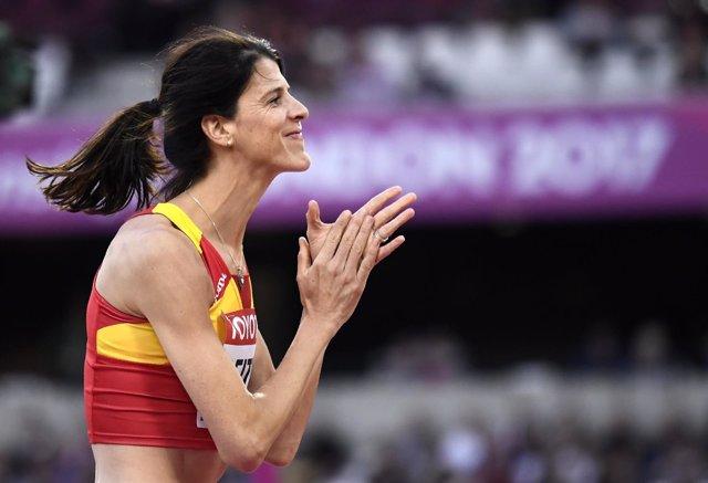 La atleta española Ruth Beitia