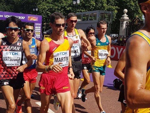 Álvaro Martín 20 km marcha