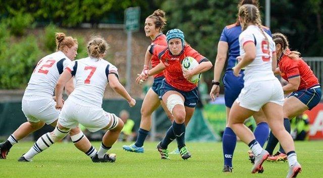 Las 'Leonas' sufren su segunda derrota en el Mundial de rugby de Irlanda