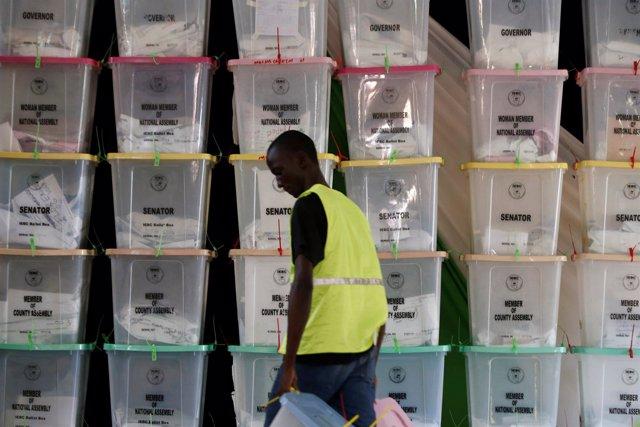 Elecciones presidenciales en Kenia