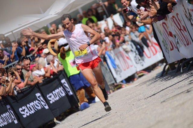 El español Kilian Jornet consigue su quinta victoria en Sierre Zinal
