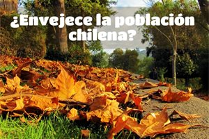 ¿Está envejeciendo la población en Chile?