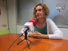 """Batet (PSC) ve """"casi imposible"""" una moción de censura a Rajoy y critica la oferta del PDeCAT"""