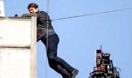 VÍDEO: El accidente de Tom Cruise en el rodaje de Misión Imposible 6