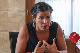 "Teresa Rodríguez acusa al PP de ""doparse electoralmente"" mediante un ""poder oculto"""