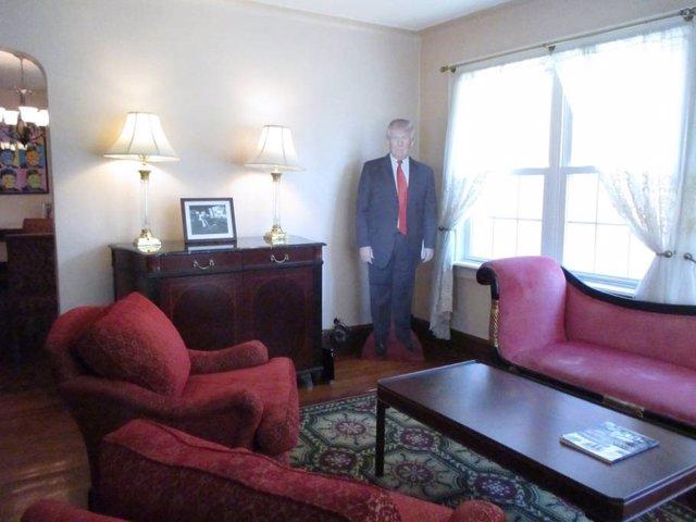 Airbnb lloga la casa de la infància de Donald Trump