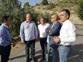 La Diputación ofrece apoyo en la promoción de las Sierras de Jaén tras el incendio en Jabalcuz