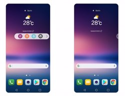 LG V30 tindrà una barra flotant d'aplicacions freqüents amb la capa de personalització UX 6.0+ (LG ELECTRONICS)