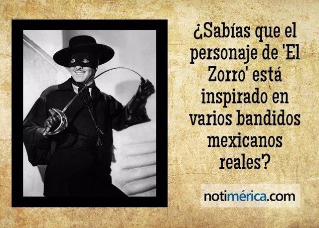 'el El Está Varios Personaje Sabías En Zorro' Que Inspirado De c3q5jALR4