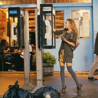 Foto: Los zapatos de boda sin estar de boda son tendencia (FOTOGRAMA DE LA PELICULA SEXO EN NUEVA YORK)