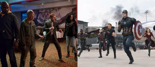 The Defenders y Civil War