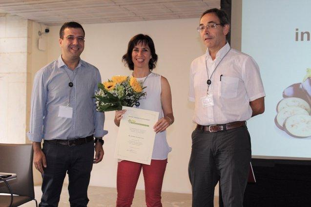 Foto: La investigadora Mariola Plazas, galardonada por la Sociedad Española de Ciencias Hortícolas (UPV)